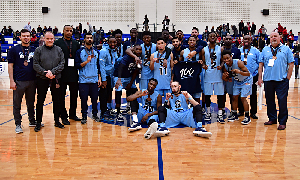 Men's basketball bounce back to claim OCAA bronze medal