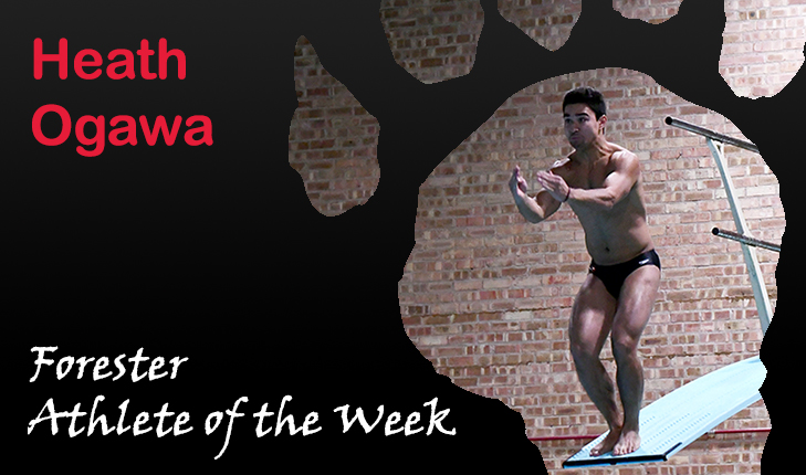 Heath Ogawa Named Forester Athlete of the Week for Eighth Time