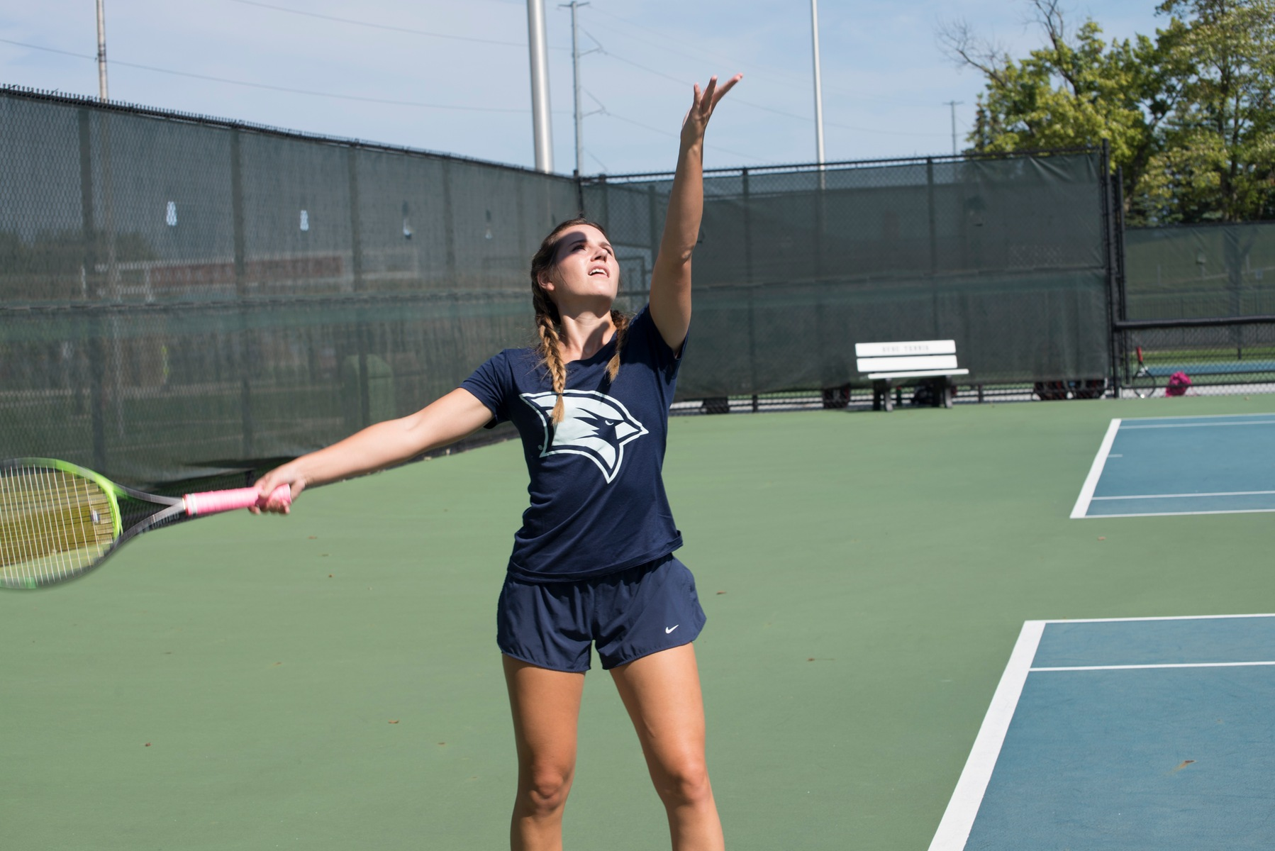 Women's Tennis falls in regular season finale to Ferris State