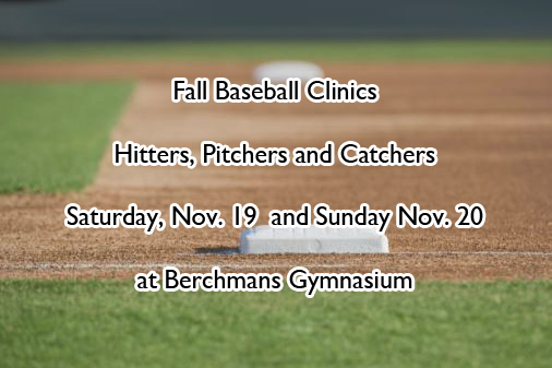 Baseball to Host Fall Clinics for Hitters, Pitchers and Catchers