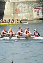 Women's Crew Finishes Season With Strong Showing At Dad Vail