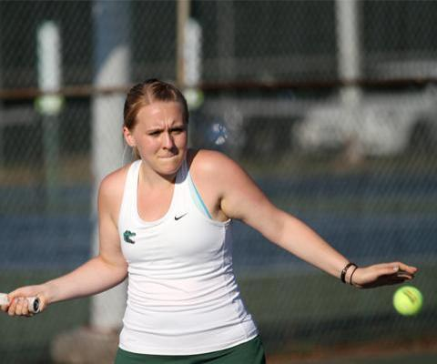 Hawks spoil opening day for Sage Women's Tennis