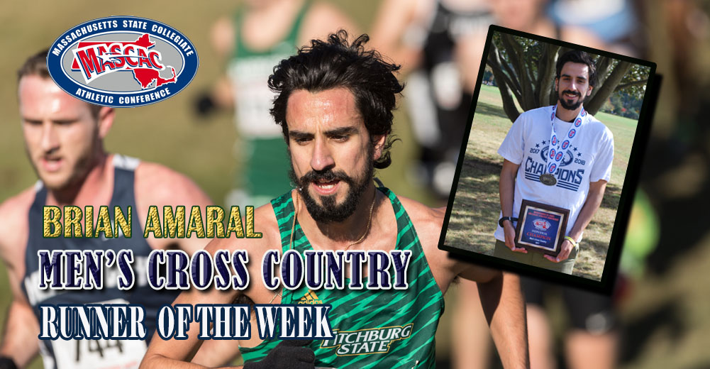 Amaral Named MASCAC Men's Cross Country Runner Of The Week