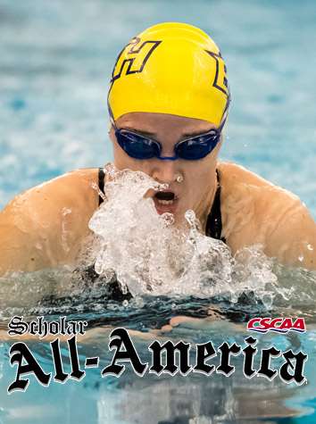 Emory & Henry Women's Swimming Receives Scholastic Honors From CSCAA