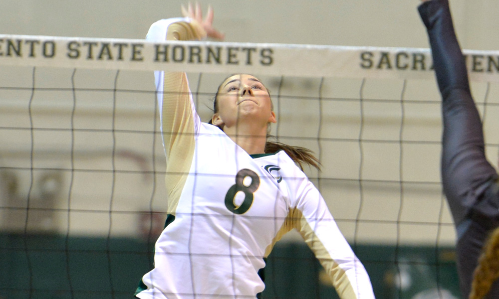 VOLLEYBALL ADVANCES TO BIG SKY CHAMPIONSHIP MATCH AFTER 3-1 WIN OVER PORTLAND STATE