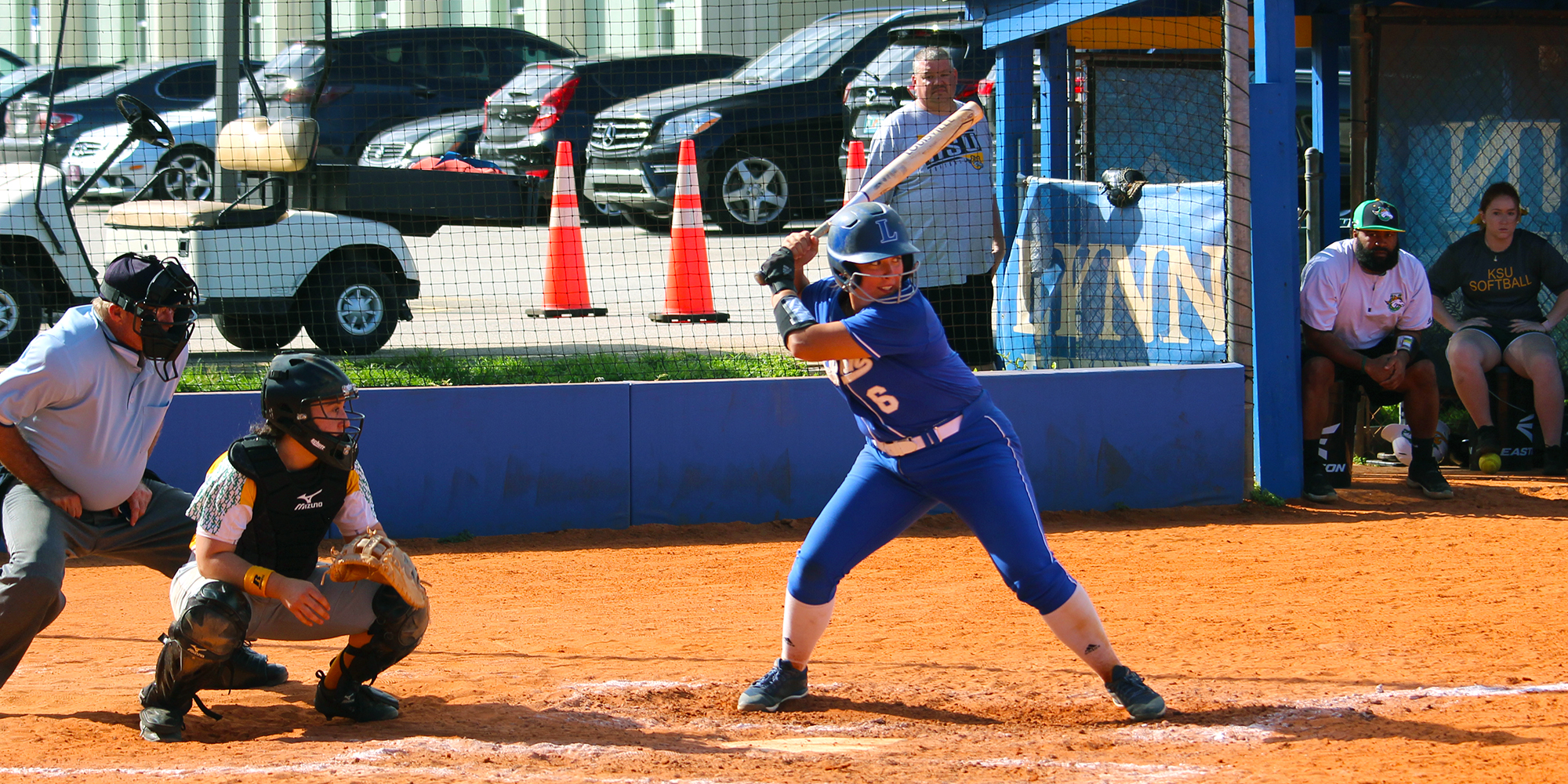 Softball Bred for Scoring in Doubleheader Sweep