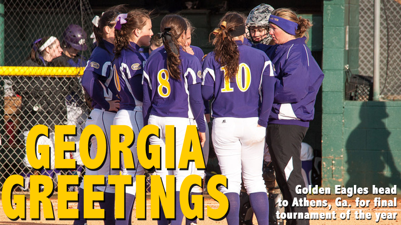Golden Eagles wrap up tournament play this weekend with trip to Athens, Ga.