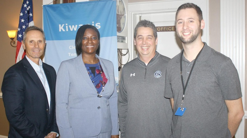 Kiwanis Club Receives CSCC Athletics Update