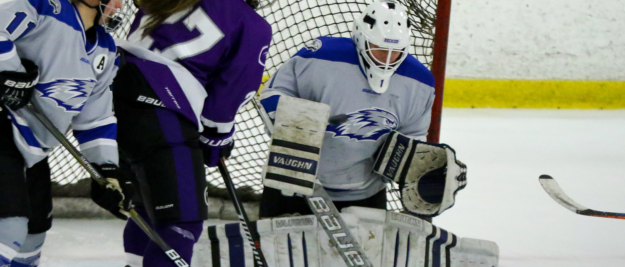 Madison Rigsby made 59 saves in a loss to Utica
