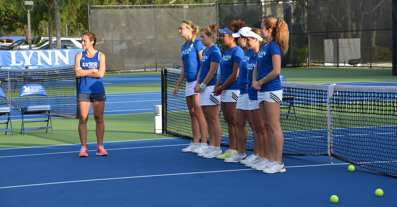 No Fooling Around; Women's Tennis is Perfect against Eckerd
