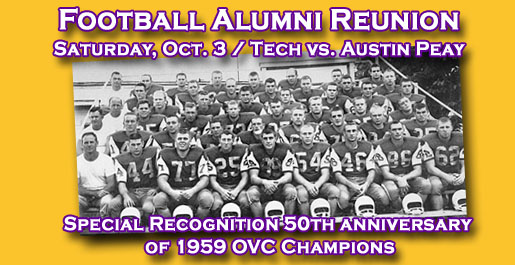 Former players invited back for Football Alumni Reunion Saturday