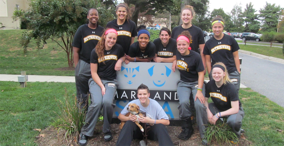 Women's Basketball Volunteers at Society for the Prevention of Cruelty to Animals