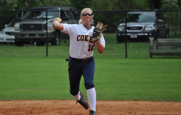 Coker Drops Conference Doubleheader to King