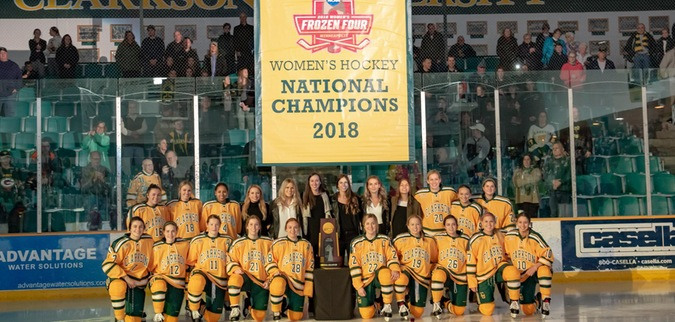 Gabel Sets Goals Record in Clarkson's Win Over SLU