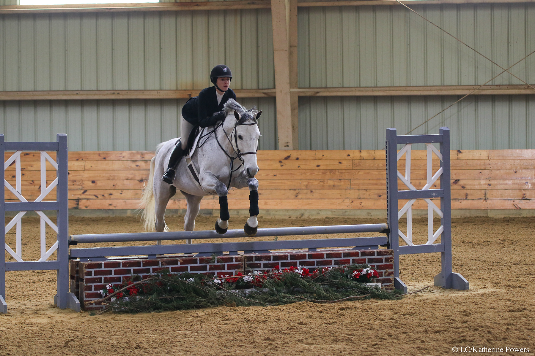 Christina Antonucci rides a horse in Open Fences.
