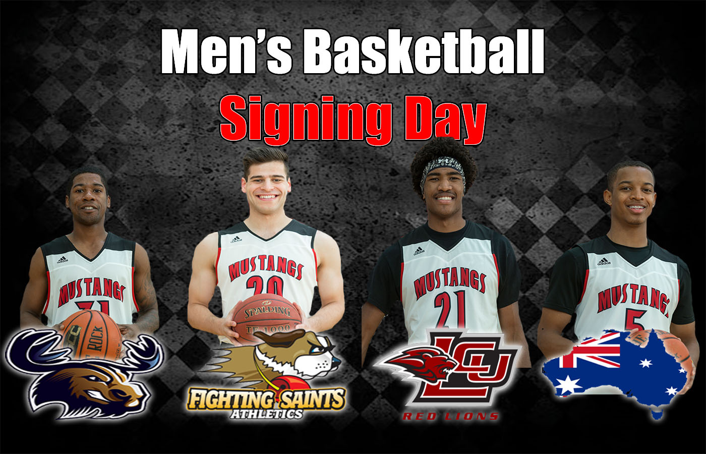 Men's Basketball Signing Day