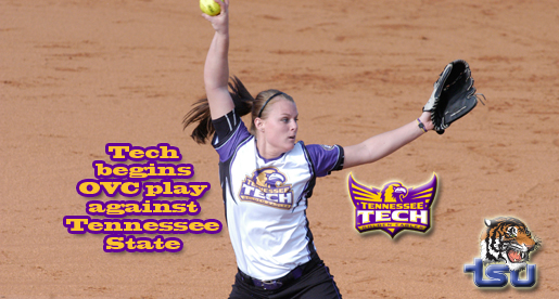Golden Eagle softball team begins conference play as it hosts series against Tennessee State