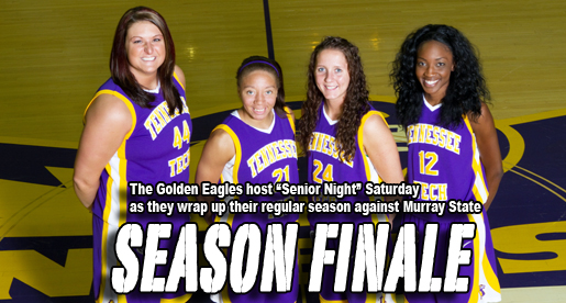 Golden Eagles wrap up regular season at home with Senior Night
