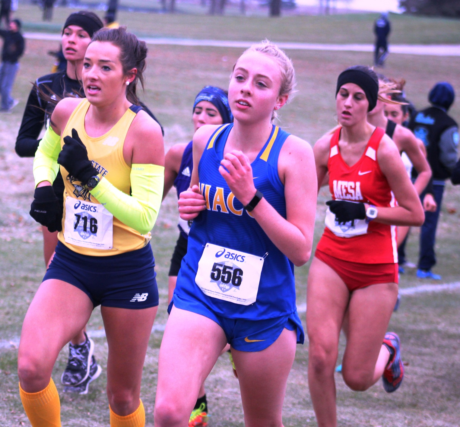 NIACC's Julia Dunlavey runs to a 123rd place finish at last season's national meet in Fort Dodge.