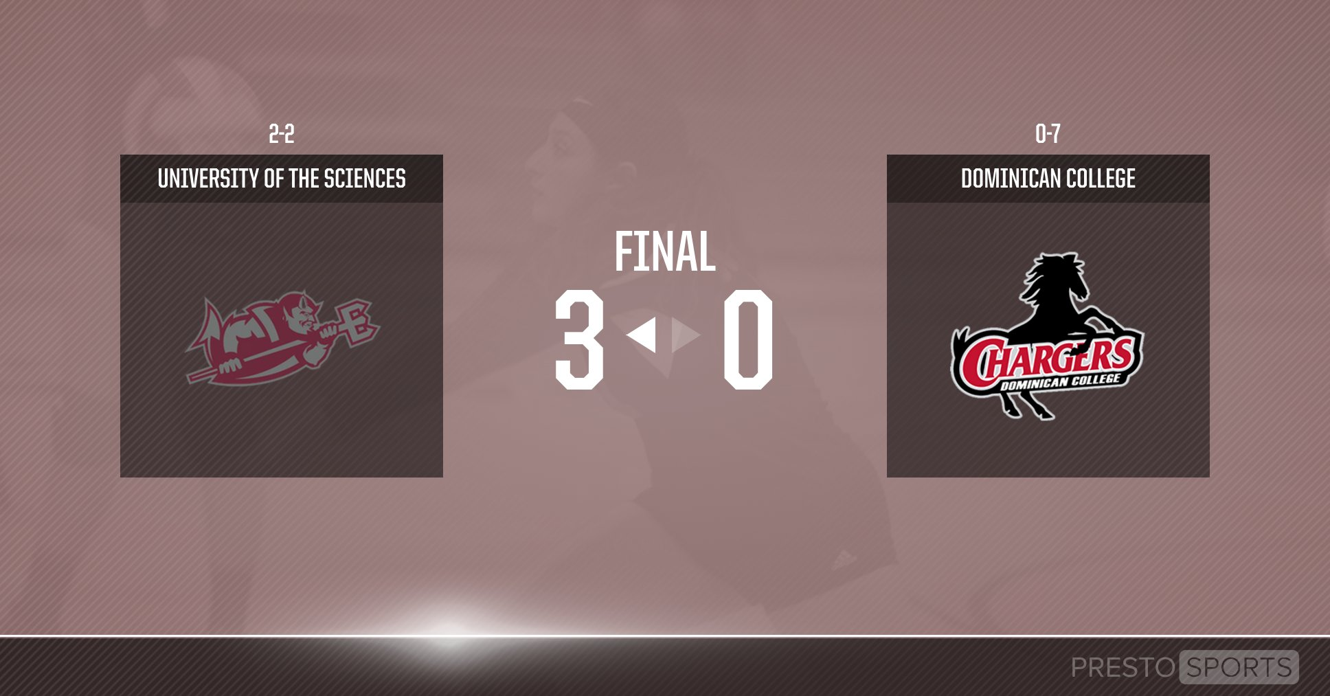 DEVILS DEFEAT WOMEN'S VOLLEYBALL