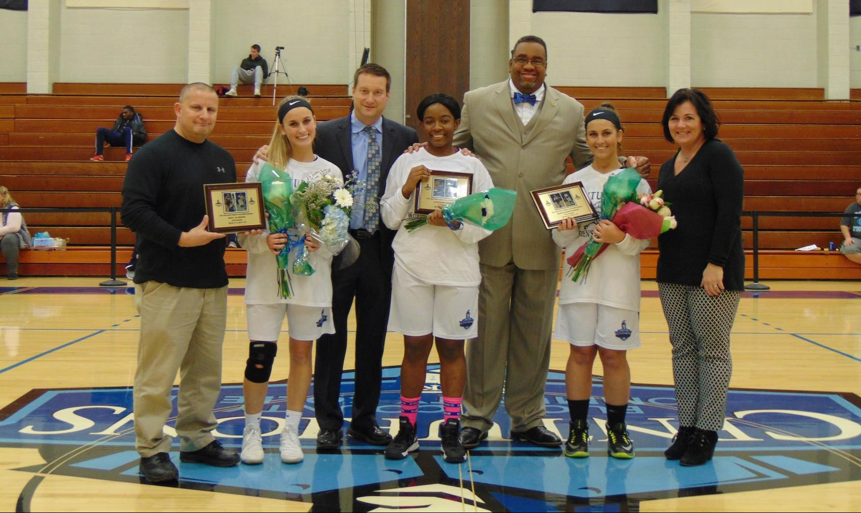 Women's Basketball Celebrates Sophomore Class
