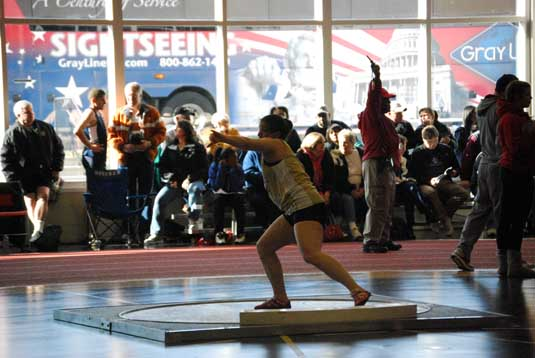 Women's Track and Field second at Ursinus College Open