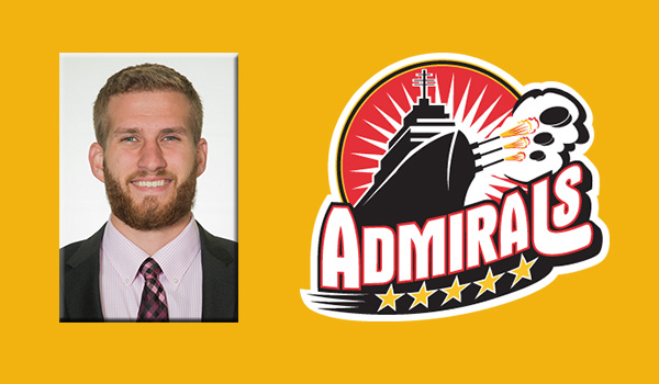 Green signs contract with ECHL's Norfolk Admirals