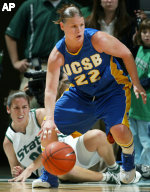 UCSB Falls To No. 10 Michigan State 86-55 In Season Opener