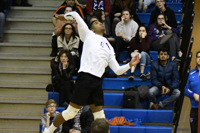 MEN'S VOLLEYBALL DOMINANT TO END REGULAR SEASON