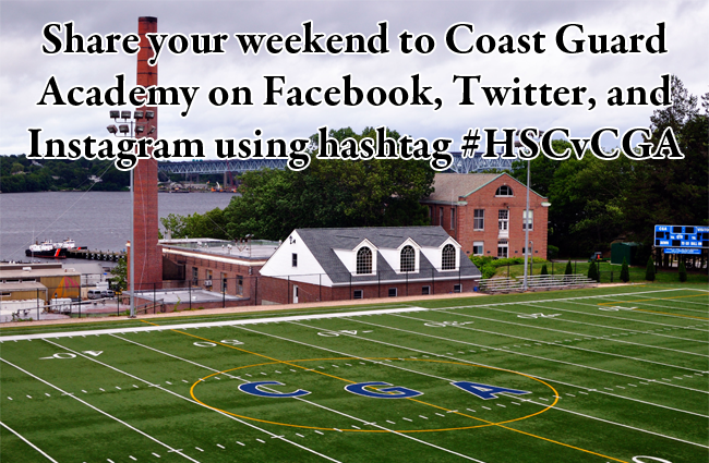 Share your weekend to Coast Guard Academy