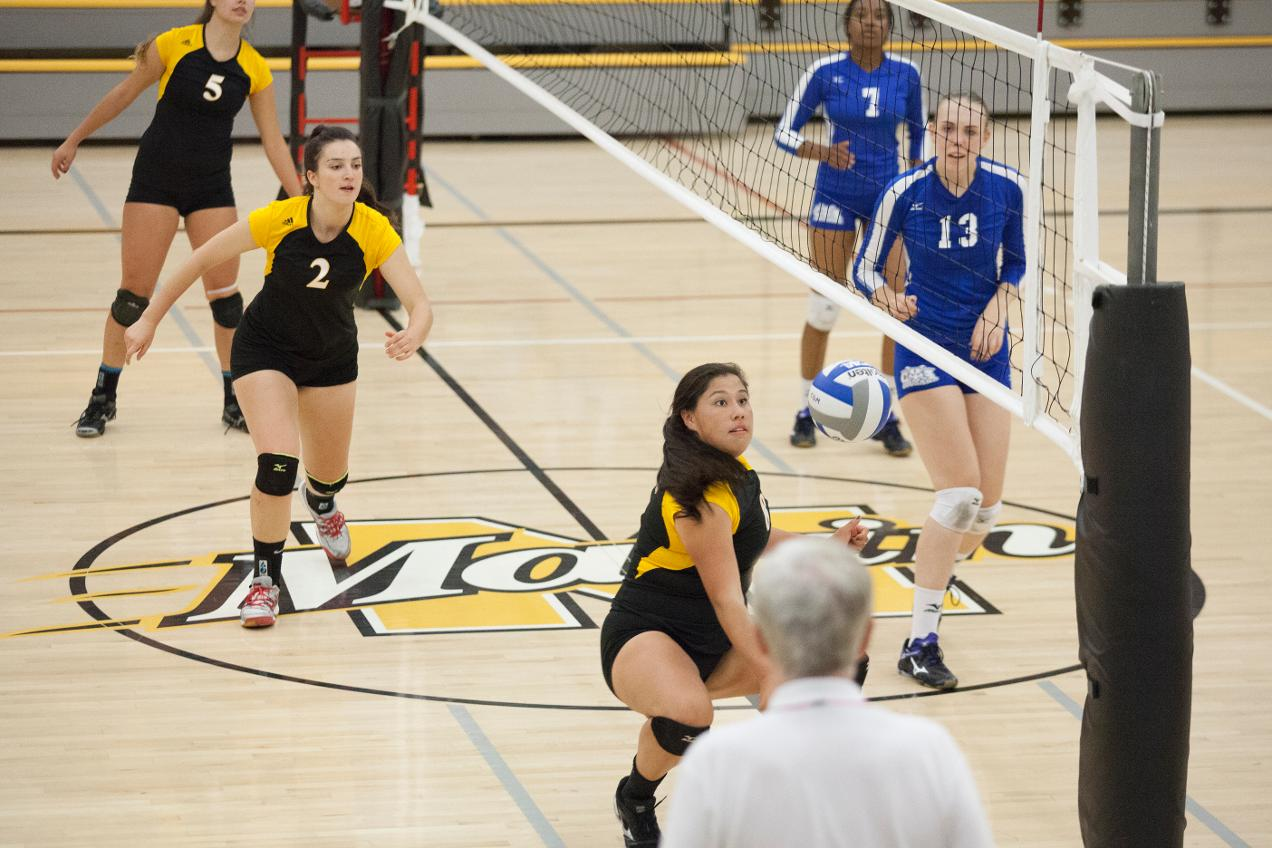 College of Marin Volleyball Grabs Win Over Mendocino At Cañada Classic