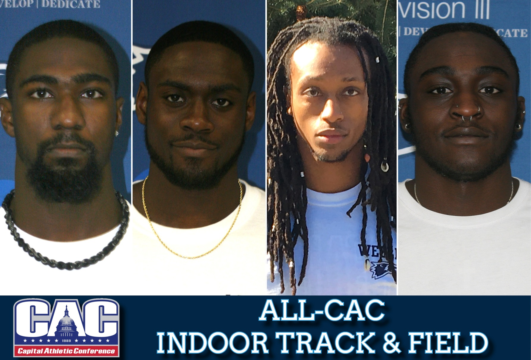 Four Wolverines land on All-CAC Men's Indoor Track & Field Team