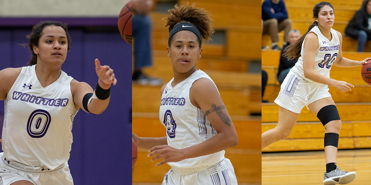 Cali Cubel, Teani White, Daisy Cardenas selected 2019-20 Women's Basketball Captains
