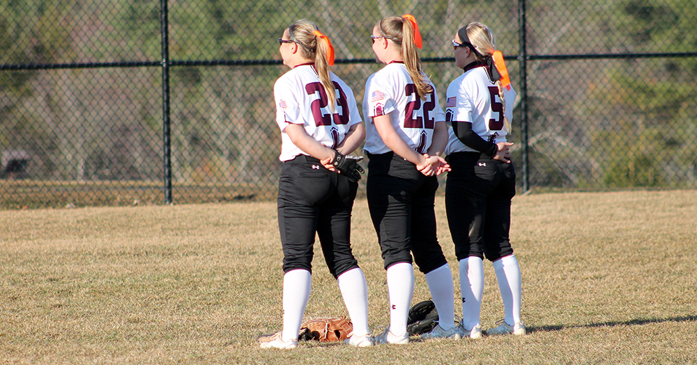 Pitching, Defense Struggle as Softball Swept by SNHU in Twinbill, 9-3 and 22-3 (5 inn.)