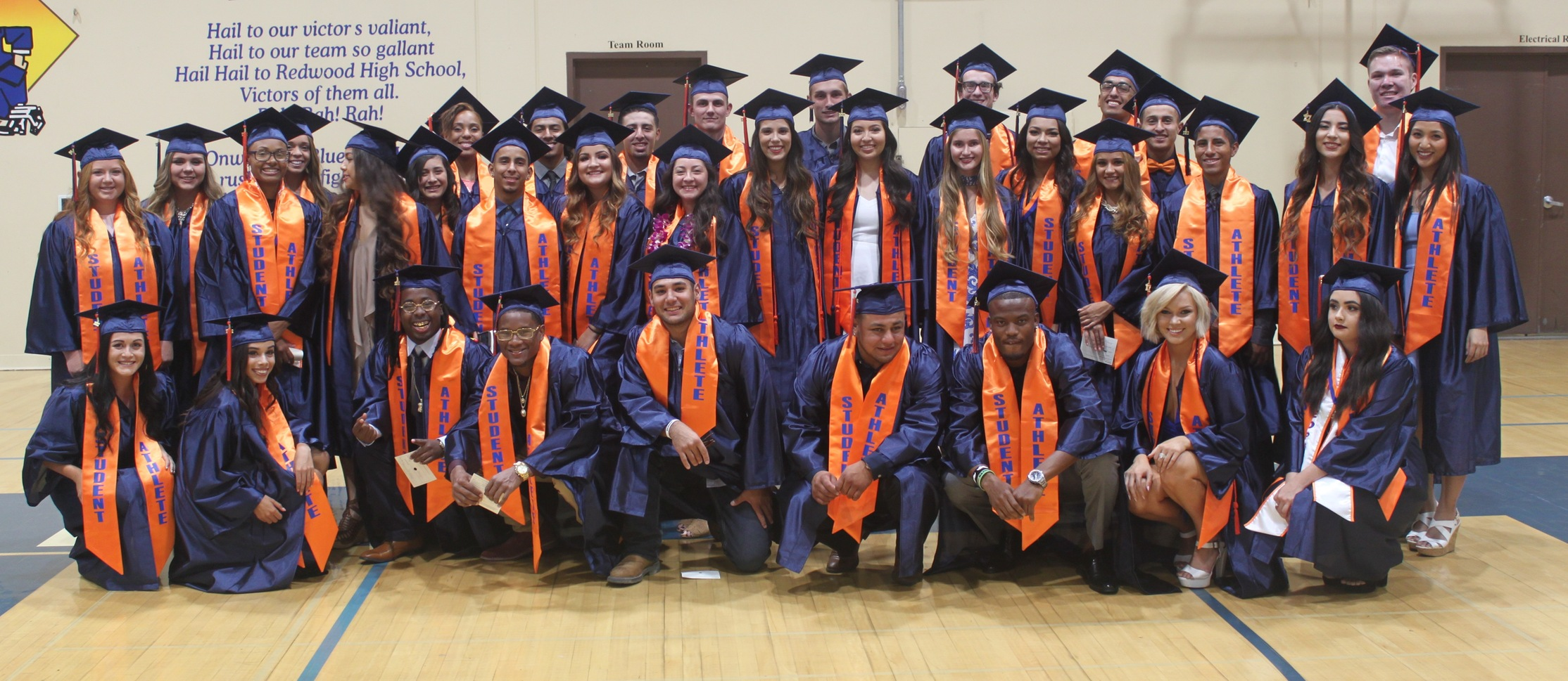COS Student-Athletes Enjoy Graduation Ceremony