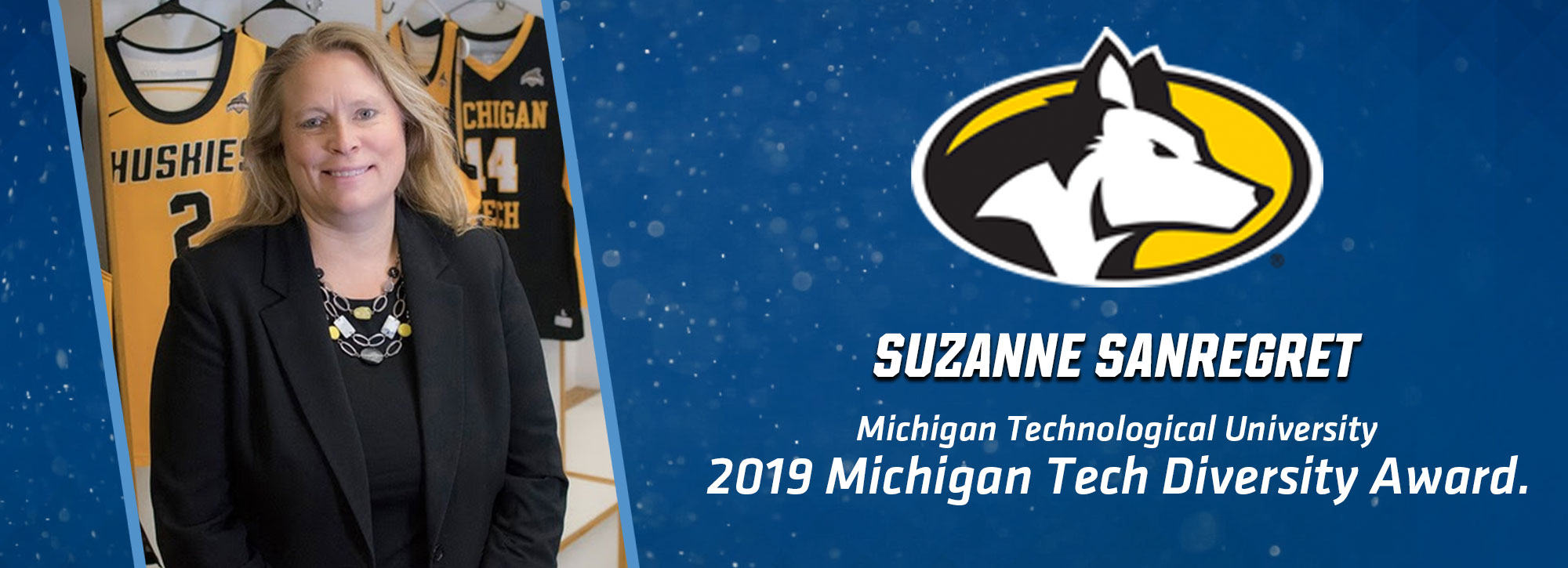 Michigan Tech Recognizes Suzanne Sanregret With 2019 Diversity Award