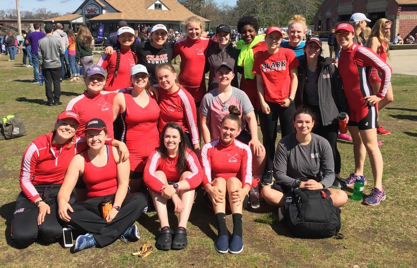 Clark Rowing Competes in NEWMAC Championship