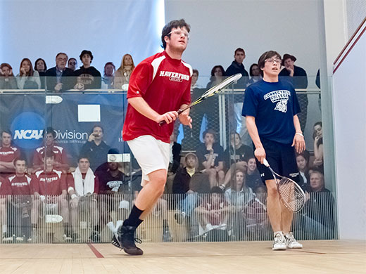 Hoyas bite Fords on opening day of men's squash championship