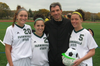 Pickford Honored as Rams Win on Senior Day