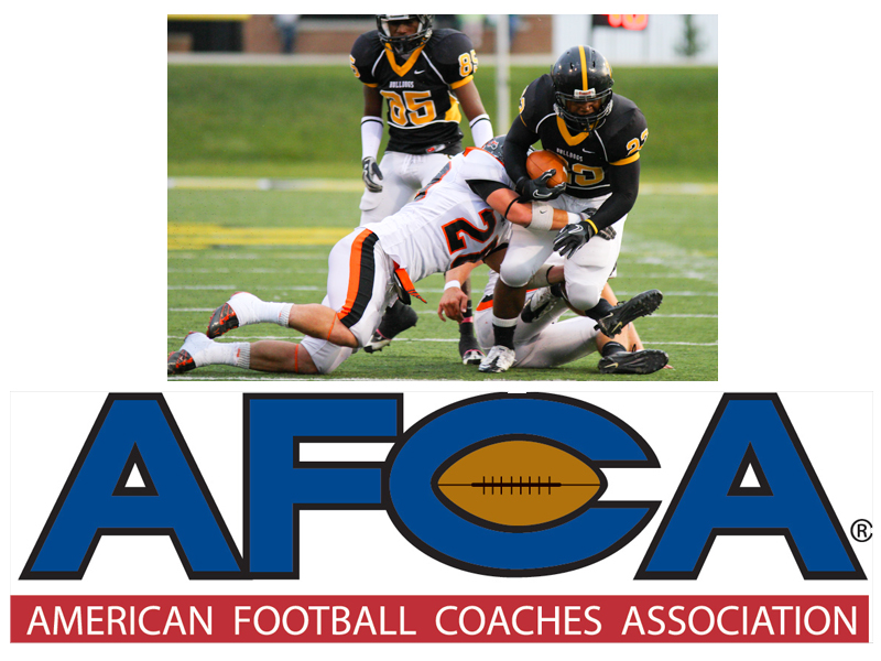 Football Ranked 22nd in AFCA Coaches Poll
