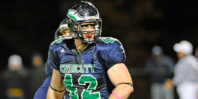 New England Football Writers list Kevin Eagan among DII/DIII All-Stars