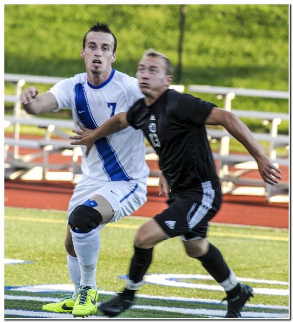 Lions' men's soccer team edged at Bluffton University, 3-2