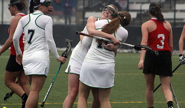 Seven Consecutive Goals Carry Wilmington Women's Lacrosse to 15-12 CACC at Dominican