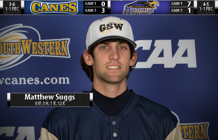 Suggs Sits Down 12; GSW Splits Twinbill At Montevallo