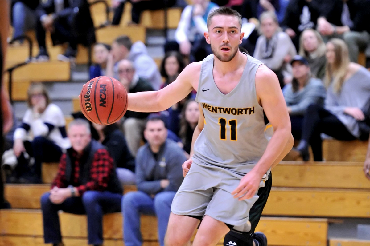Lions Pull Away from Men's Basketball