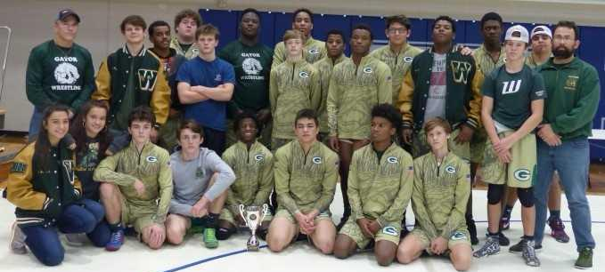 Ware Wrestlers finish 2nd in Tommy Warren Memorial Duals