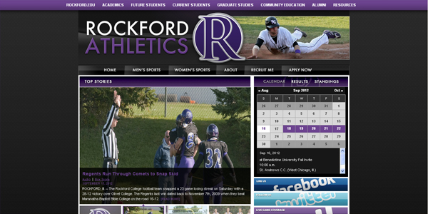 Regents Athletics Partners with PrestoSports to Redo Athletic Website
