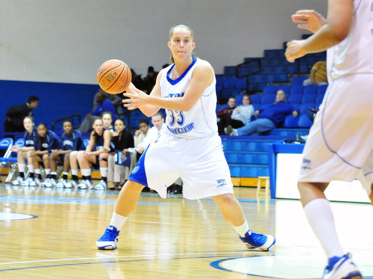Crockett's Season-High 23 Points Push CCSU to 4-0 in Conference Play, Blue Devils Top FDU at Home