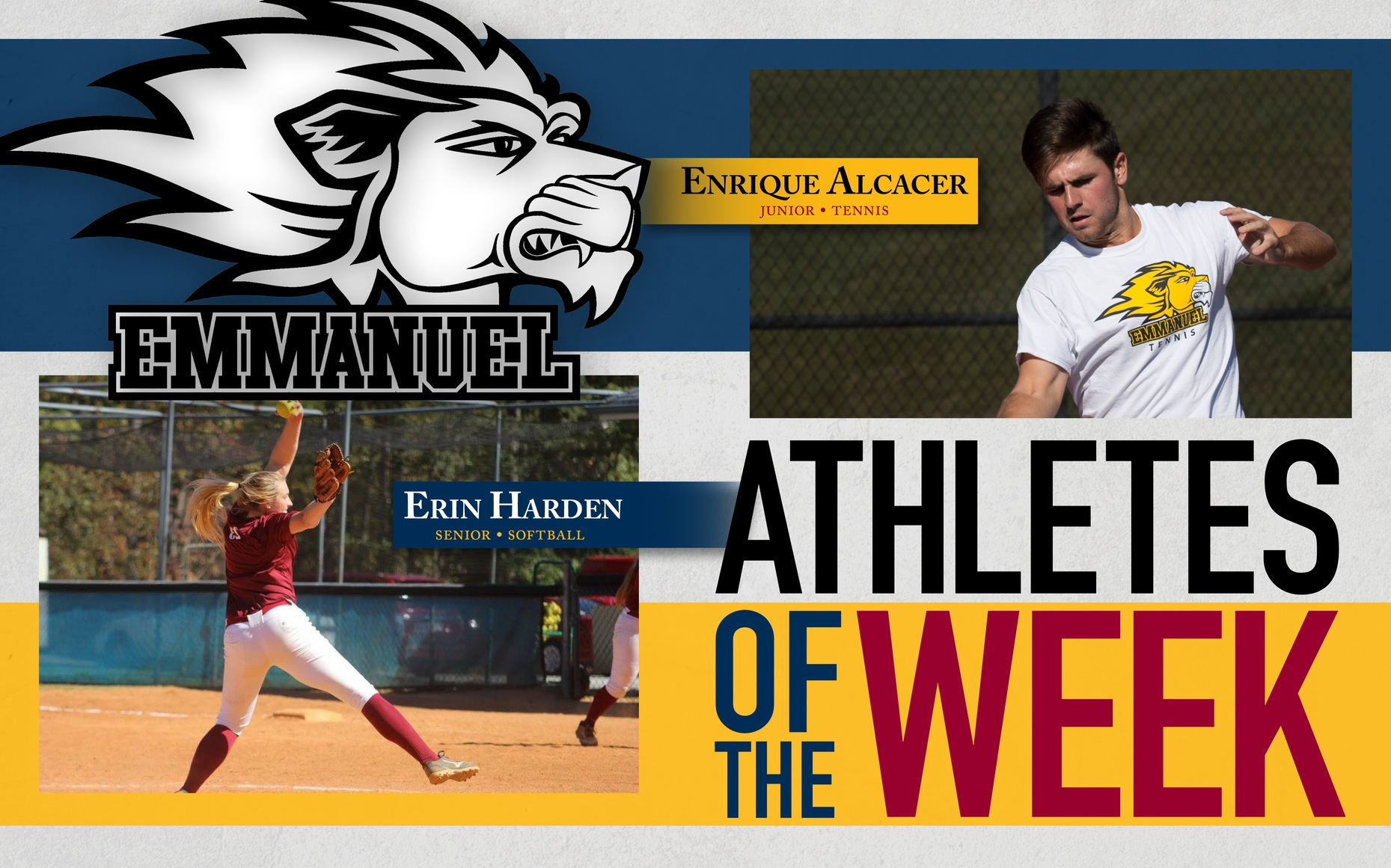 Alcacer and Harden Named Athletes of the Week