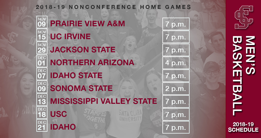 Men's Basketball Nonconference Game Times Set